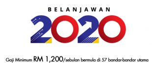 Gaji Minimum RM 1,200 sebulan di 57 wilayah bandar-bandar utama bermula Januari 2020