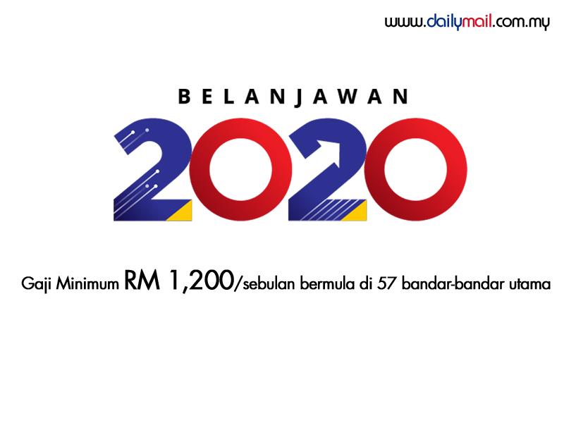 Gaji Minimum Rm 1 200 Sebulan Di 57 Wilayah Bandar Bandar Utama Bermula Januari 2020 Dailymail Malaysia